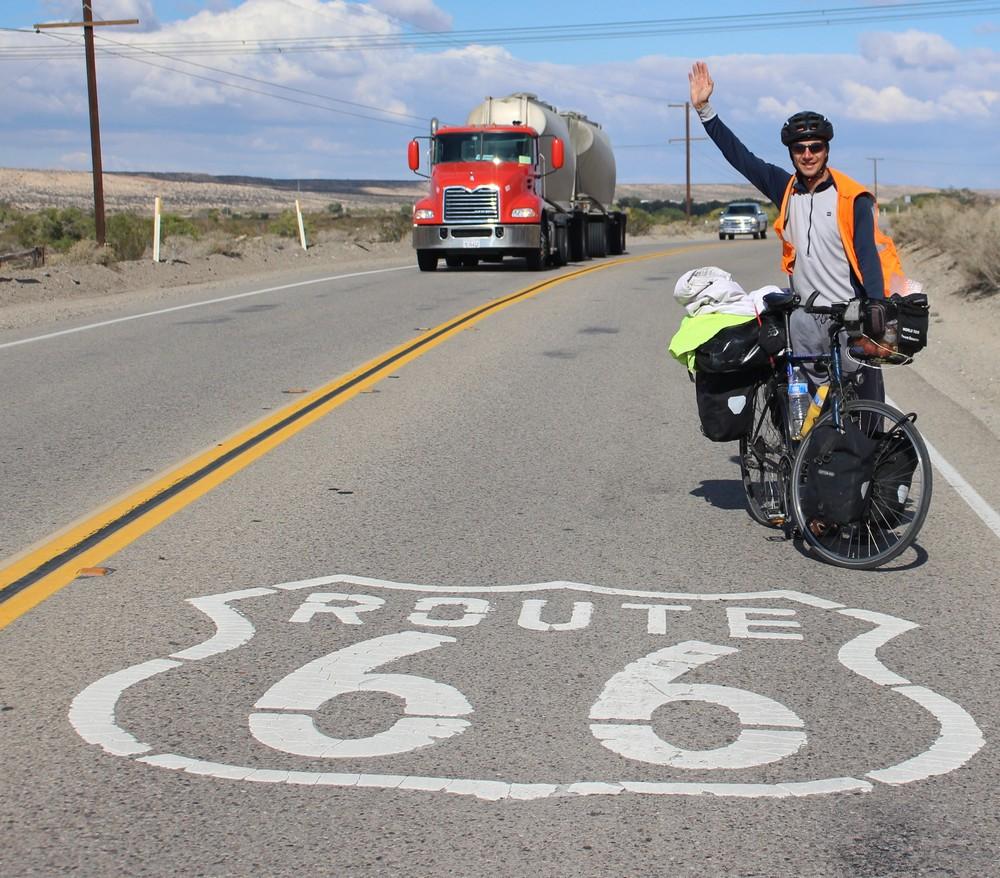 Weltreise Rad Fahrrad Florent Gouachon