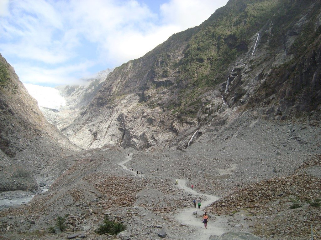 Franz Josef Gletscher Südinsel Neuseeland