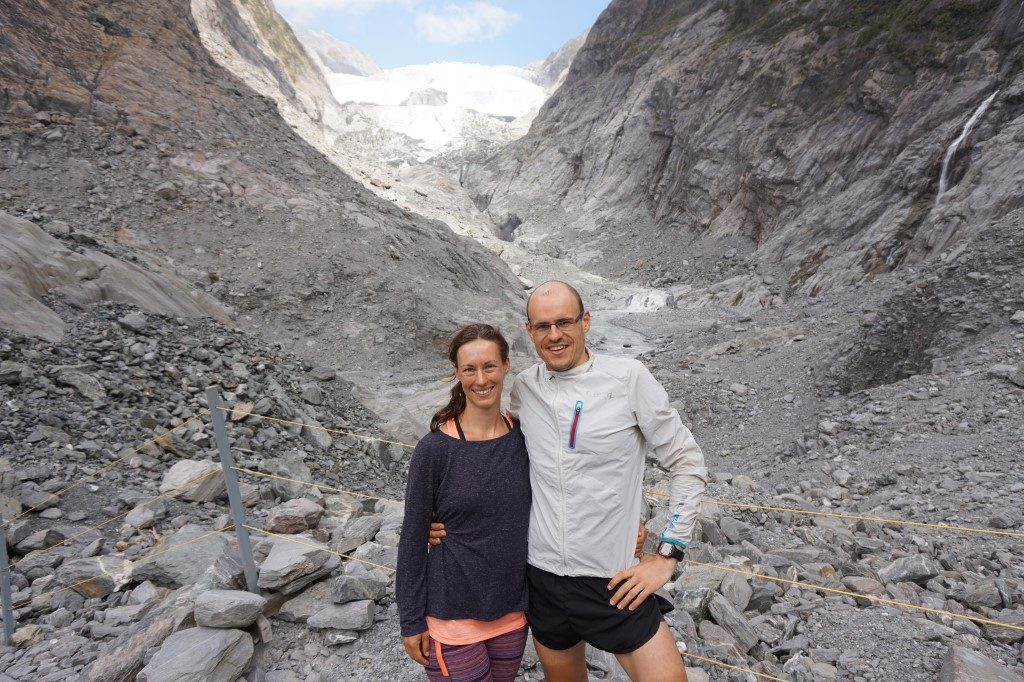 Franz Josef Gletscher Aussichtspunkt Südinsel Neuseeland