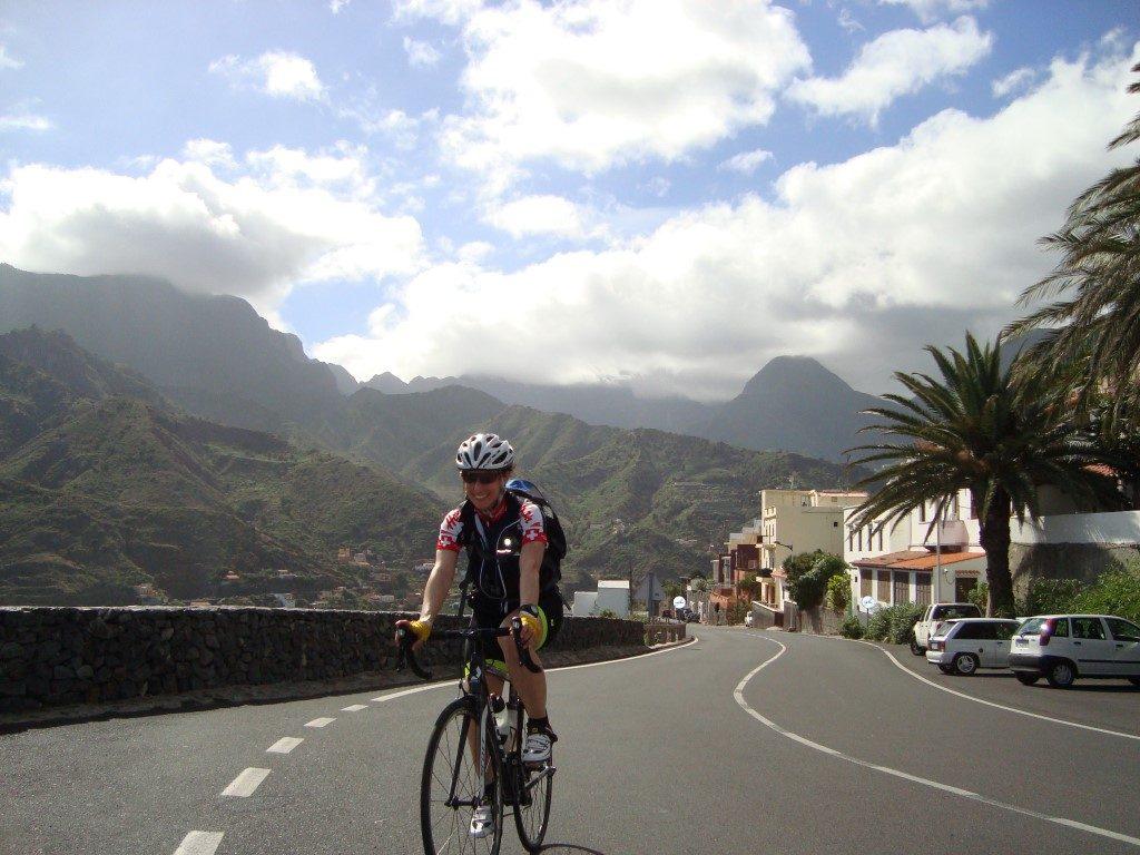Hermigua Rad Radtour La Gomera Kanarische Inseln