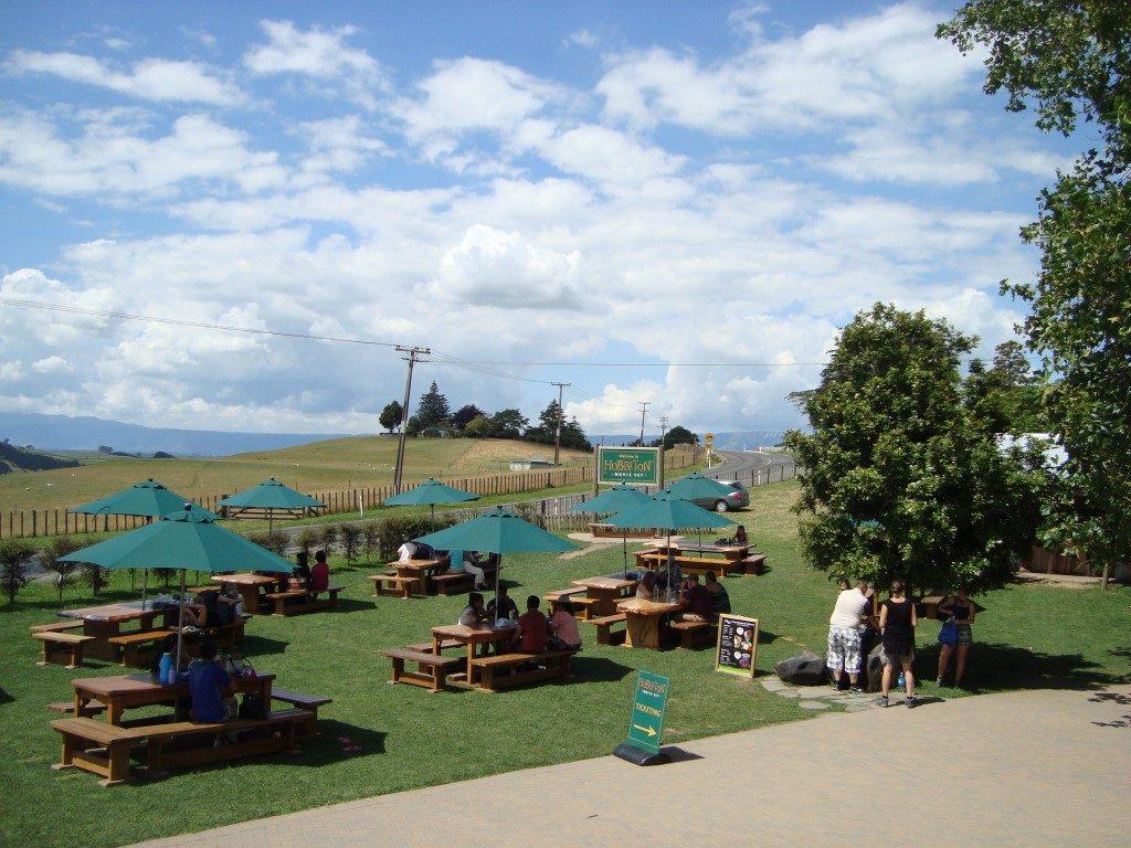 Hobbiton Movie Set Matamata Nordinsel Neuseeland