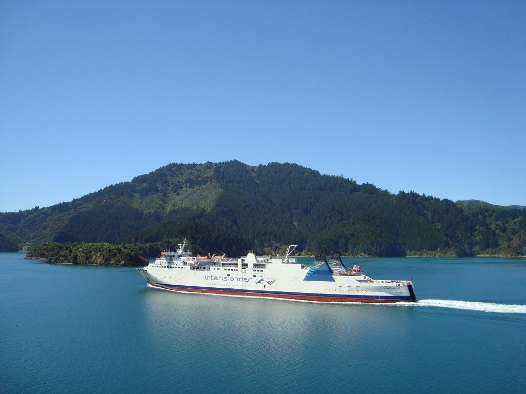 Interislander Fähre Wellington Nordinsel Picton Südinsel Neuseeland