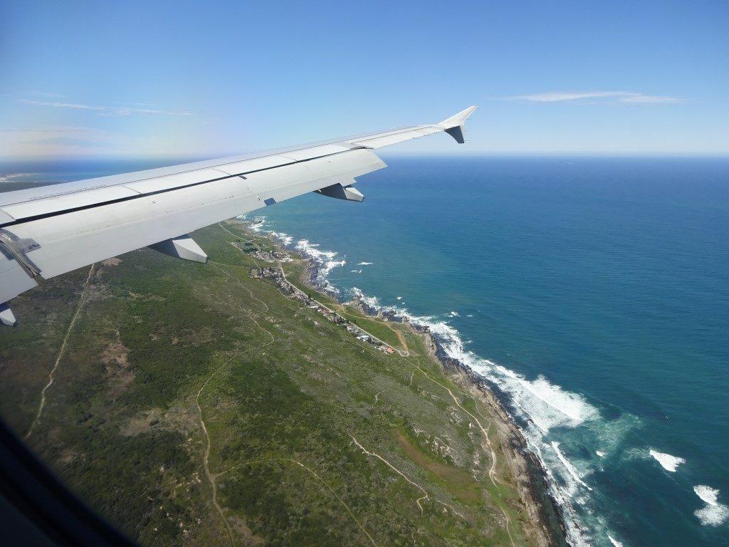 Radstrecke Küste Ironman Südafrika von oben