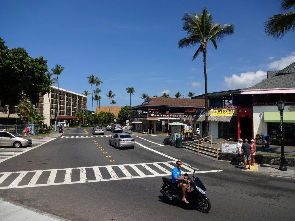 Alii Drive Kona Ironman Ziel Big Island Hawaii