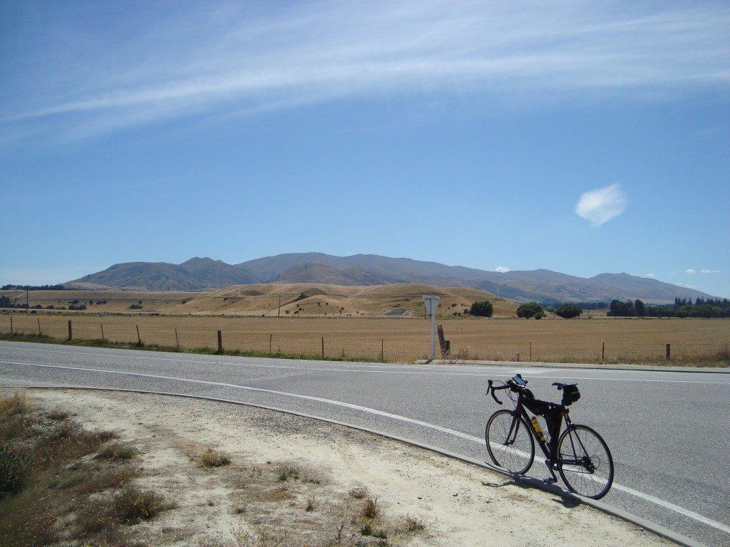 Tarras Kreuzung Wanaka Südinsel Neuseeland