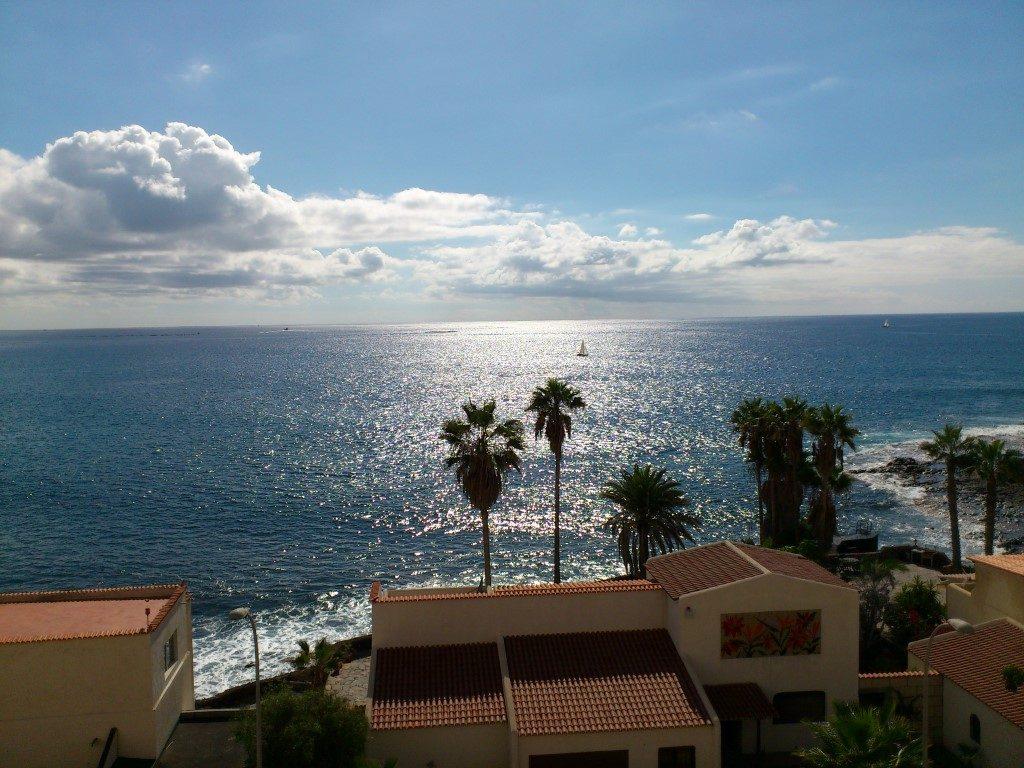 La Caleta Meer Blick Teneriffa