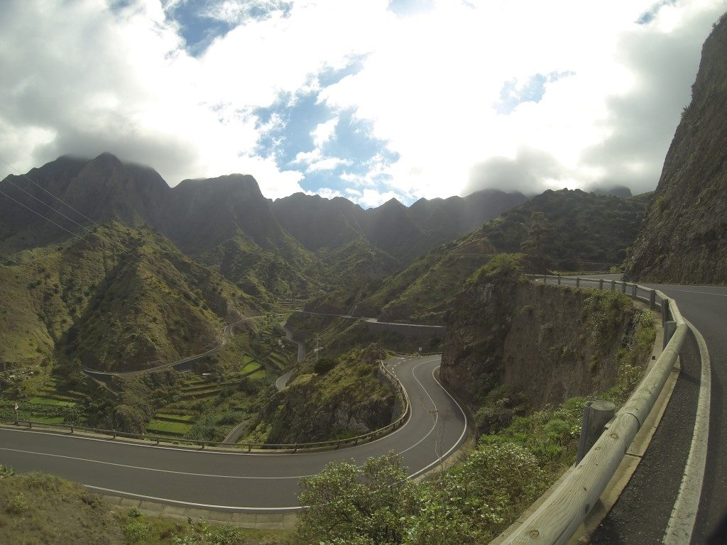 La Gomera Vallehermoso Natur Nationalpark Kanarische Inseln