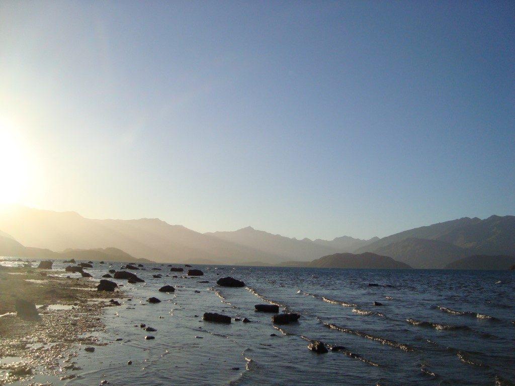 Lake Wanaka See Südinsel Neuseeland