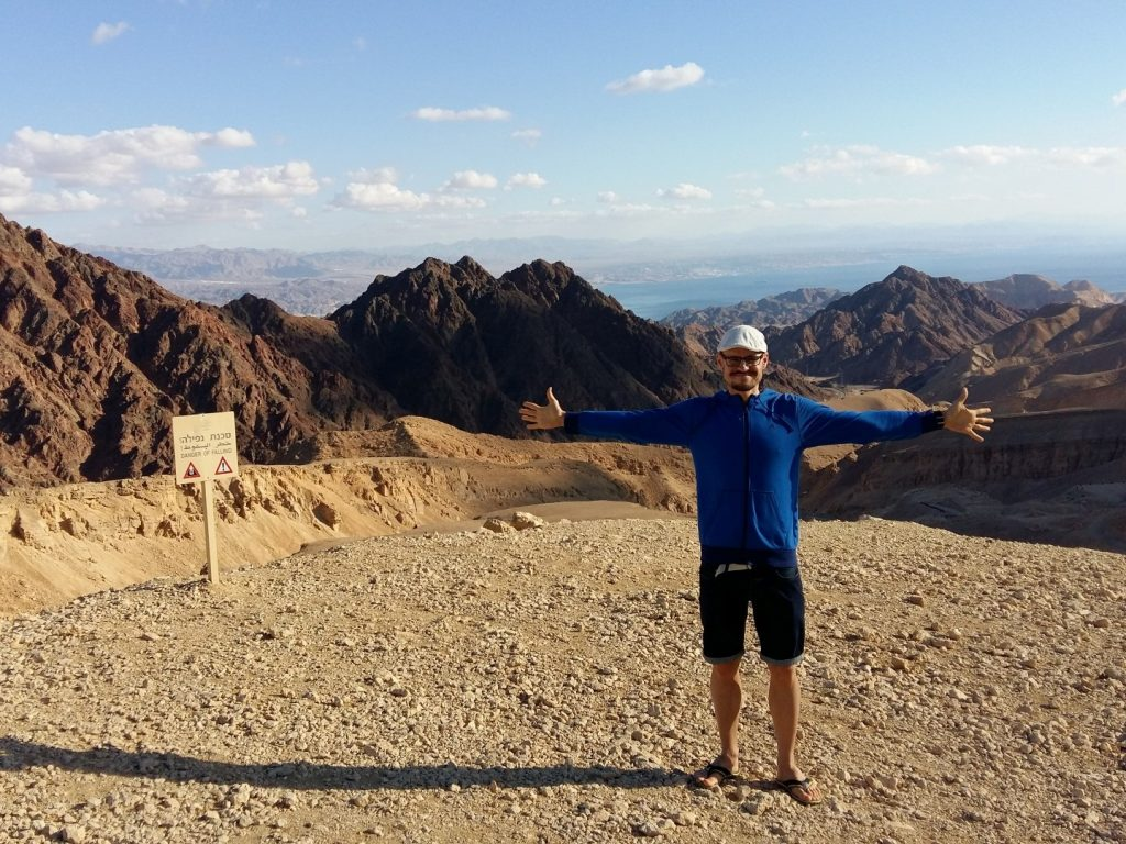 Eilat Berge Red Canyon Israel