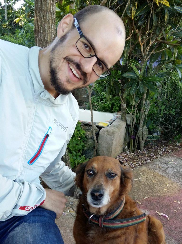 Hund Wachhund Judys Place Negril Jamaika