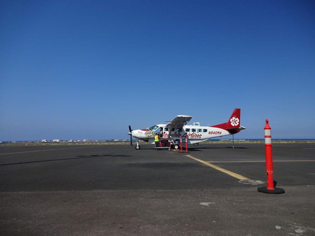 Mokulele Airlines Big Island Maui Hawaii