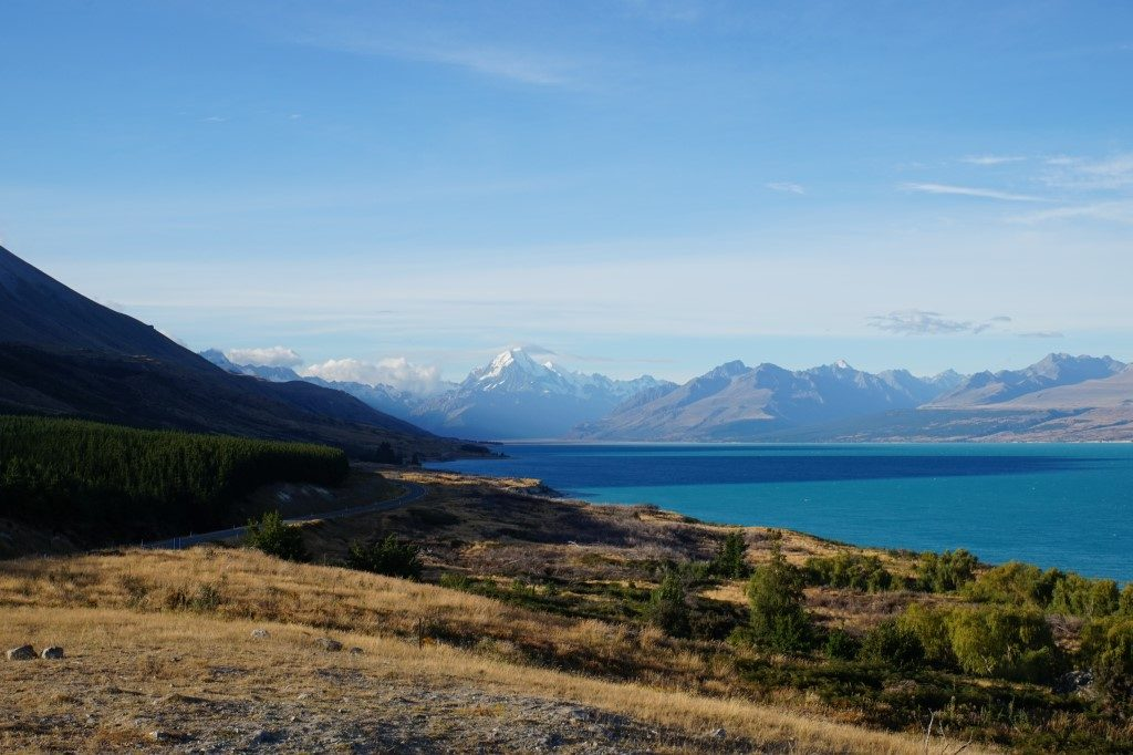 Mount Cook Lake Pukaki Südinsel Neuseeland
