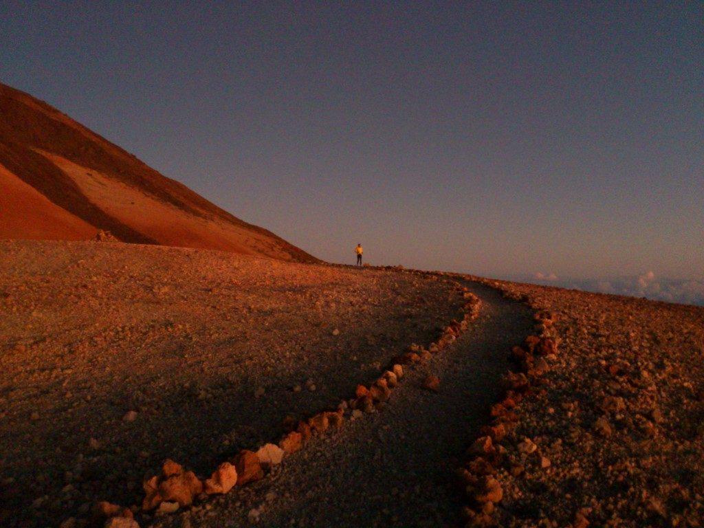 Teide Aufstieg Nacht Sonnenaufgang Teneriffa