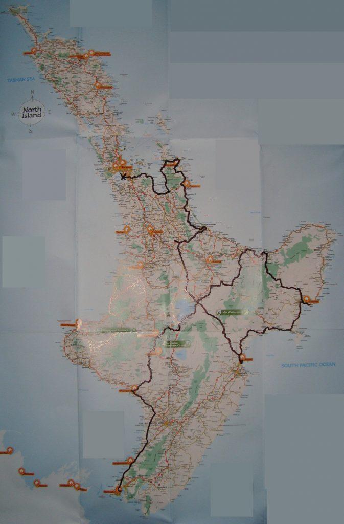 Radtour Neuseeland Nordinsel Amnesty International Bewegung Spende