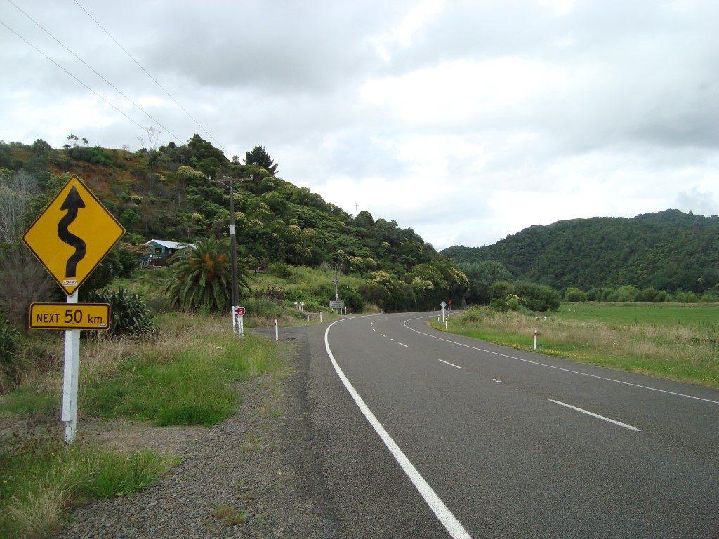 Opotiki Waioeka Matawai Nordinsel Neuseeland