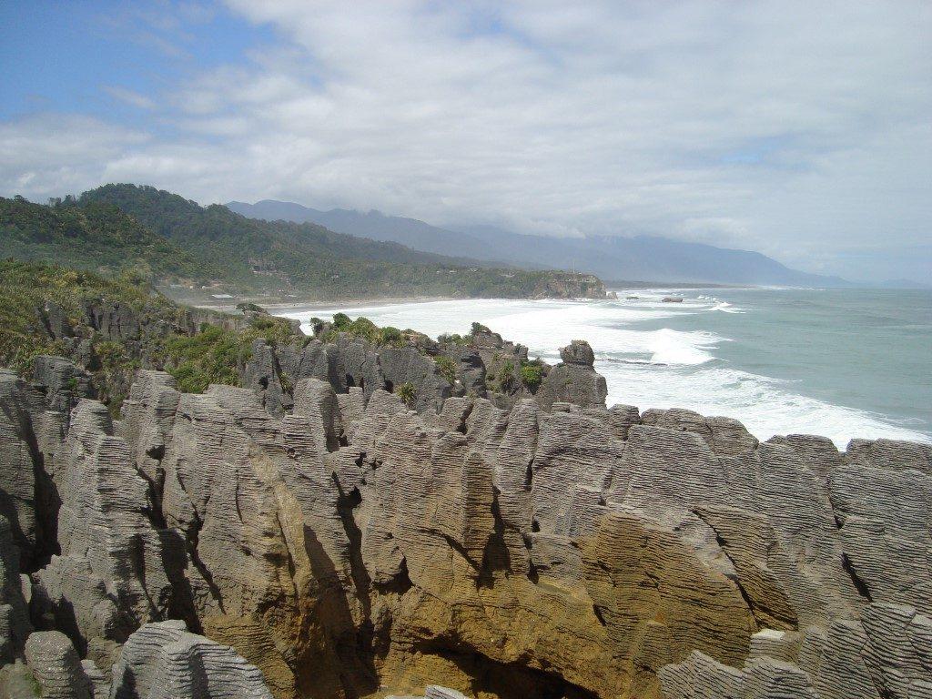 Pancake Rocks Westküste Südinsel Neuseeland
