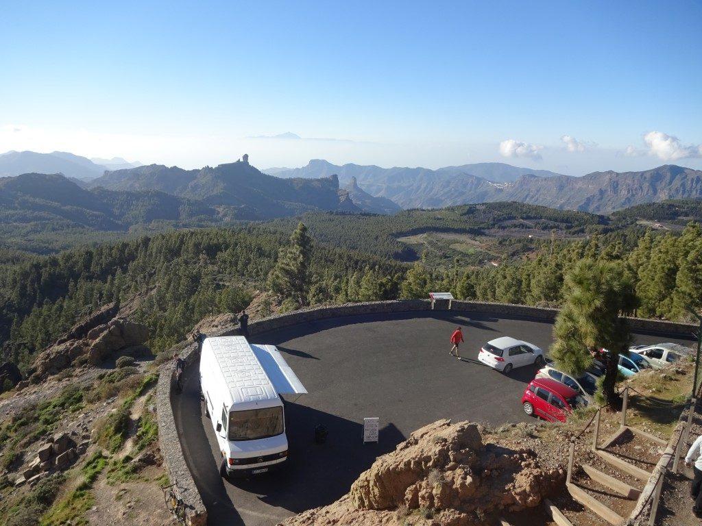 Pico de las Nieves höchster Berg Gran Canaria