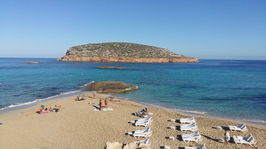Strand Platja de Comte Ibiza