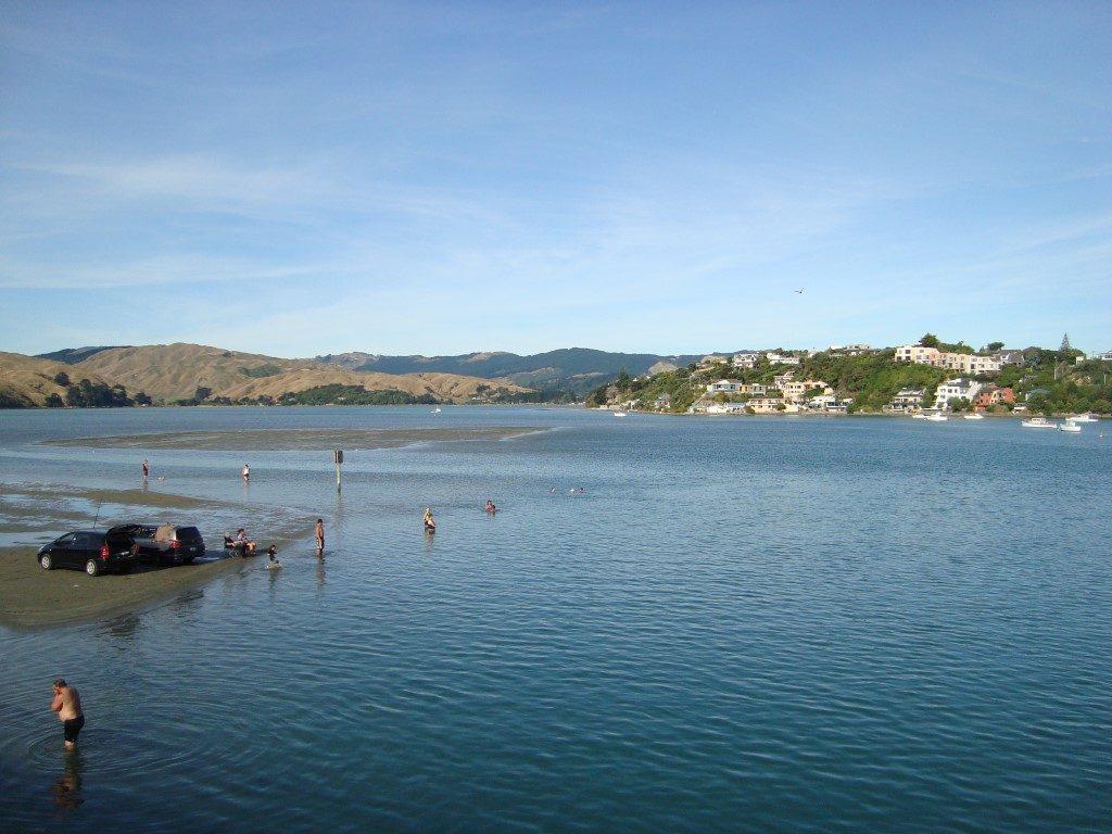 Porirua Baden Nordinsel Neuseeland