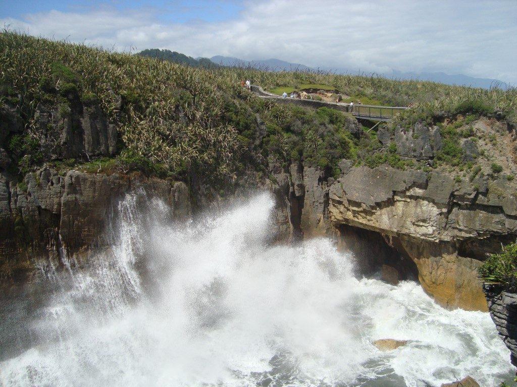 Punakaiki Blowouts Westküste Südinsel Neuseeland