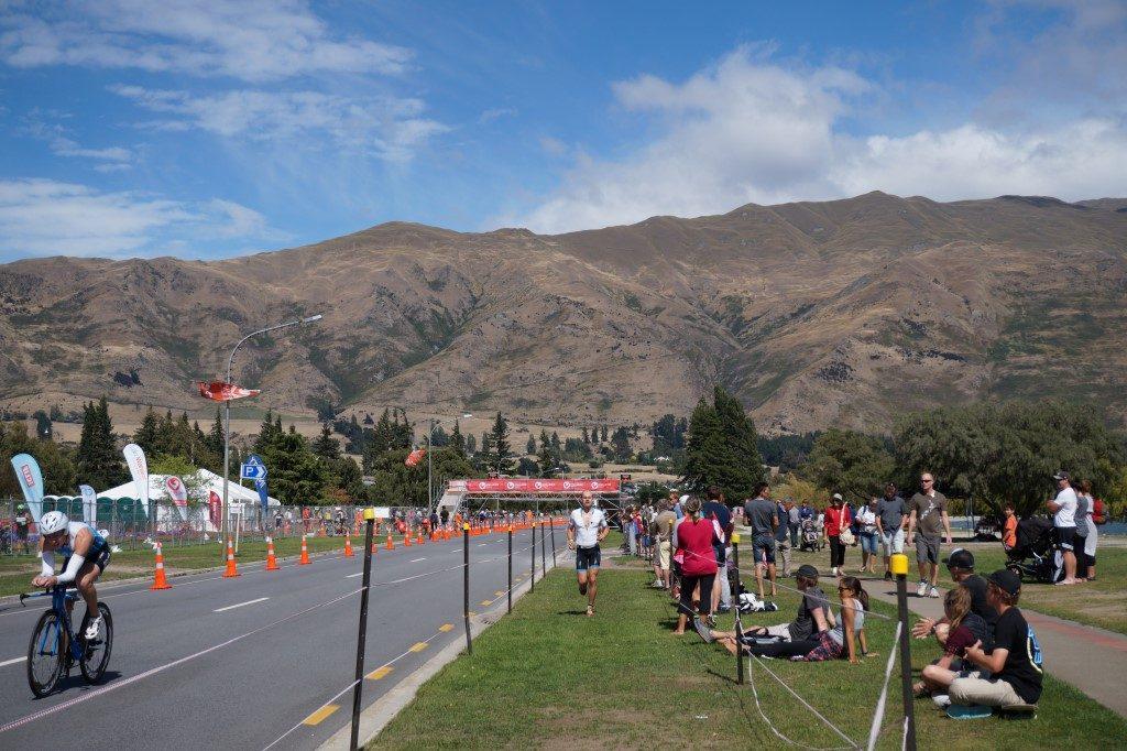 Challenge Wanaka Wechsel Rad Radfahren Laufen Südinsel Neuseeland
