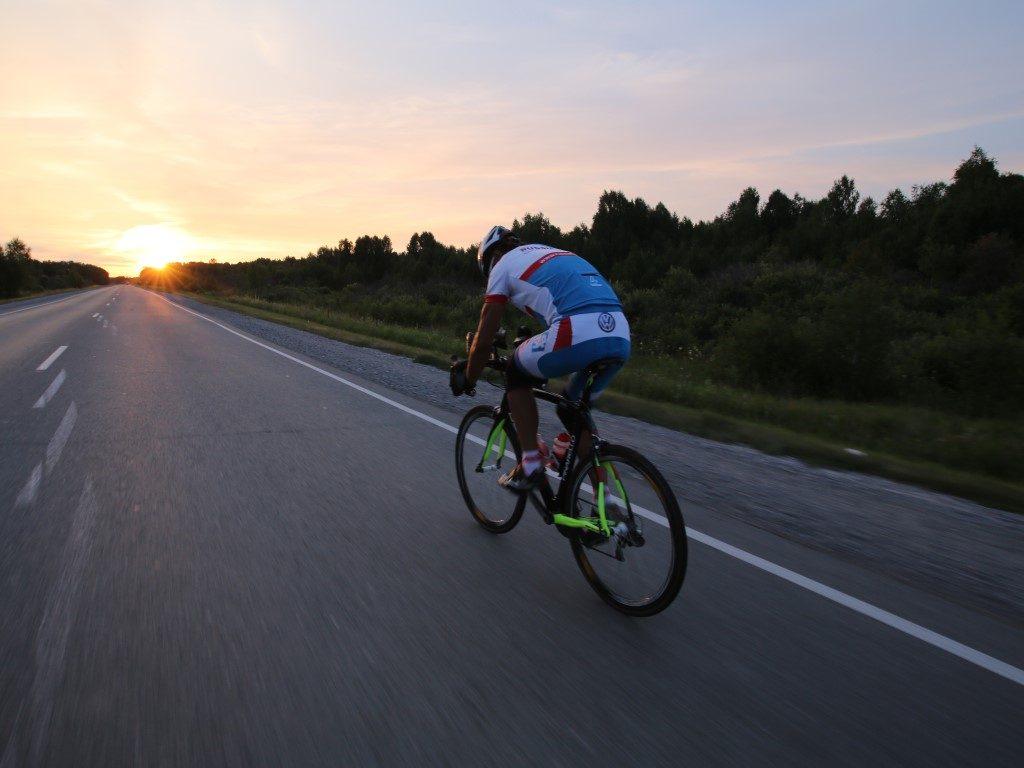 Wolfgang Fasching Radtour Radmarathon Russland Russia Coast