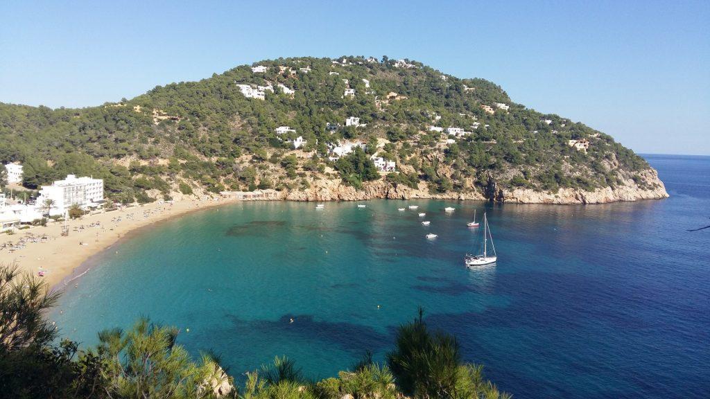 Bucht Sant Vicent Ibiza