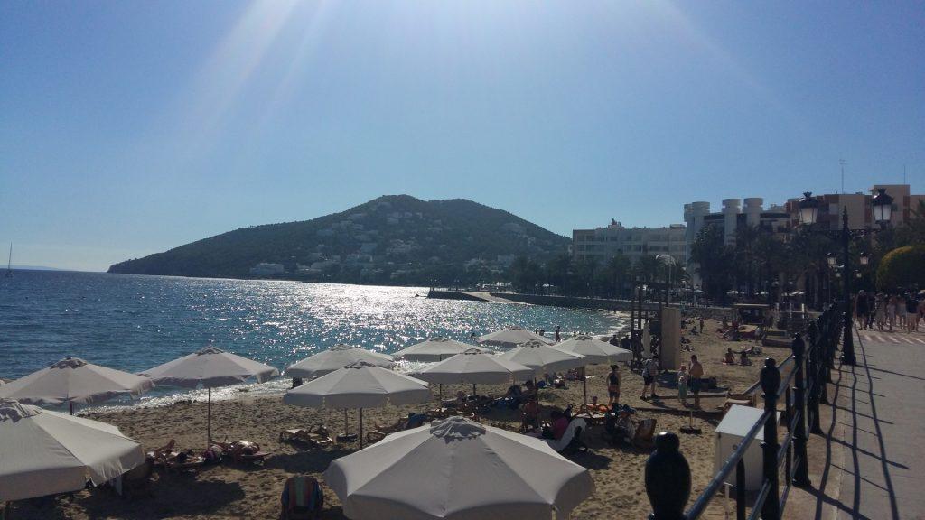 Strand Santa Eularia Ibiza