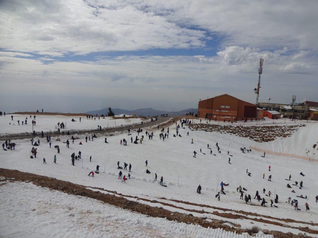 Skigebiet Golanhöhen Israel