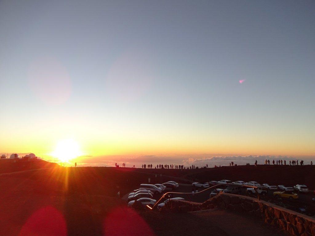 Haleakala National Park Sonnenuntergang Maui Hawaii