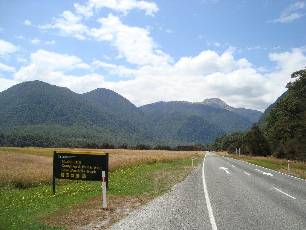 Springs Junction Südinsel Neuseeland