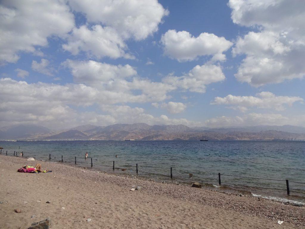 Eilat Strand Schnorcheln Golf Akaba Israel Jordanien