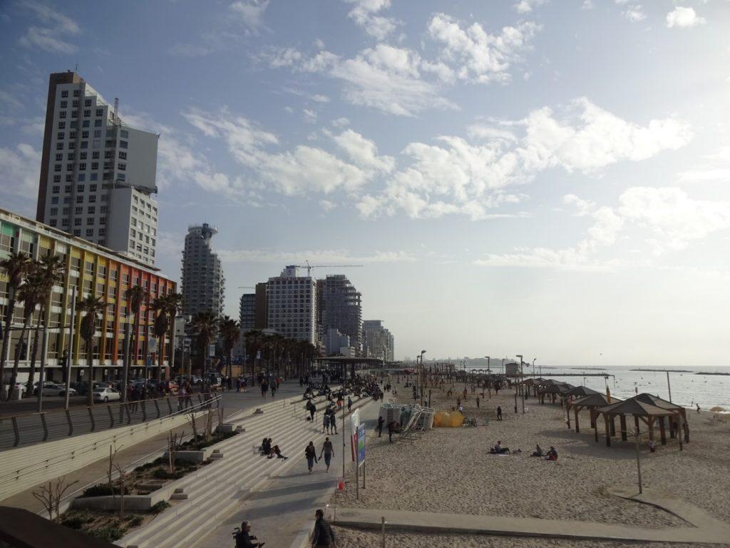 Strandpromenade Tel Aviv Israel