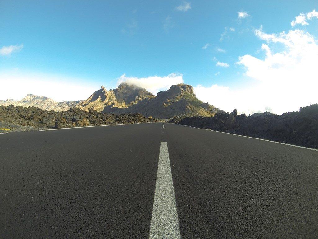 Straße Teide Krater Rennrad Teneriffa