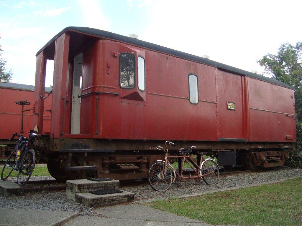 Waipara Sleepers Hostel Eisenbahn Wagon Südinsel Neuseeland