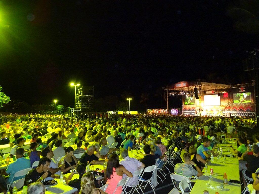 Welcome Buffet Kona Ironman Big Island Hawaii