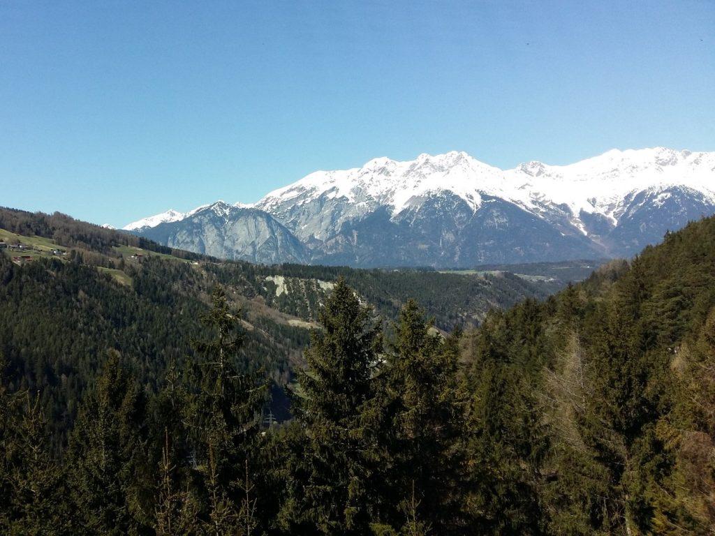 Panorama Aussicht McDonald's Innsbruck Autobahn Raststätte