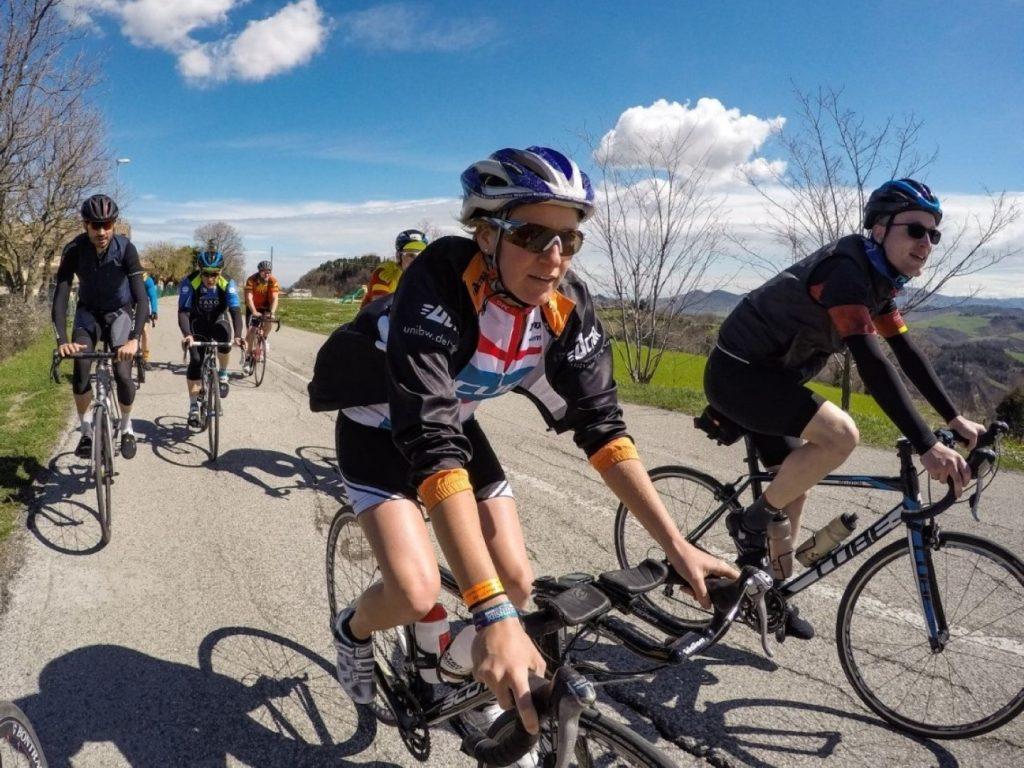 Radfahren Radgruppe Hinterland Trainingslager Italien