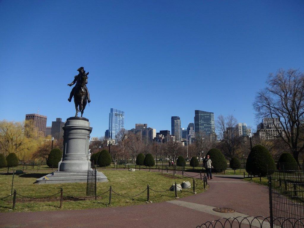 Public Garden Boston Massachusetts