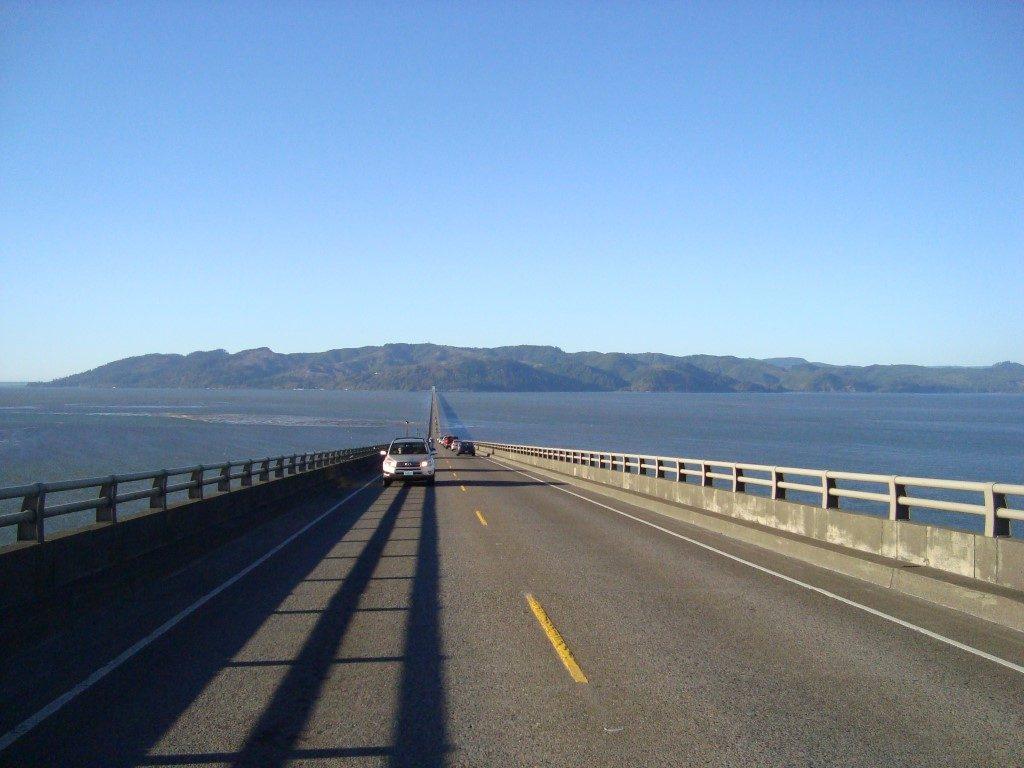 Astoria Megler Bridge Brücke Columbia River Washington Oregon