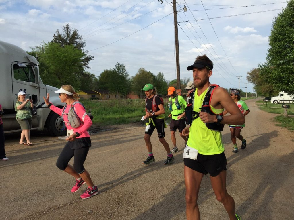 Bryce Carlson Marathon Run Across USA Group