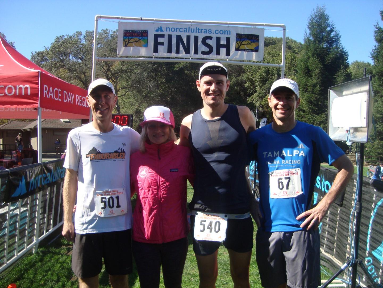 Platz 2 beim Golden Hills Marathon in Kalifornien