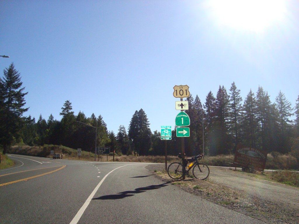 Highway 1 101 Leggett Kalifornien