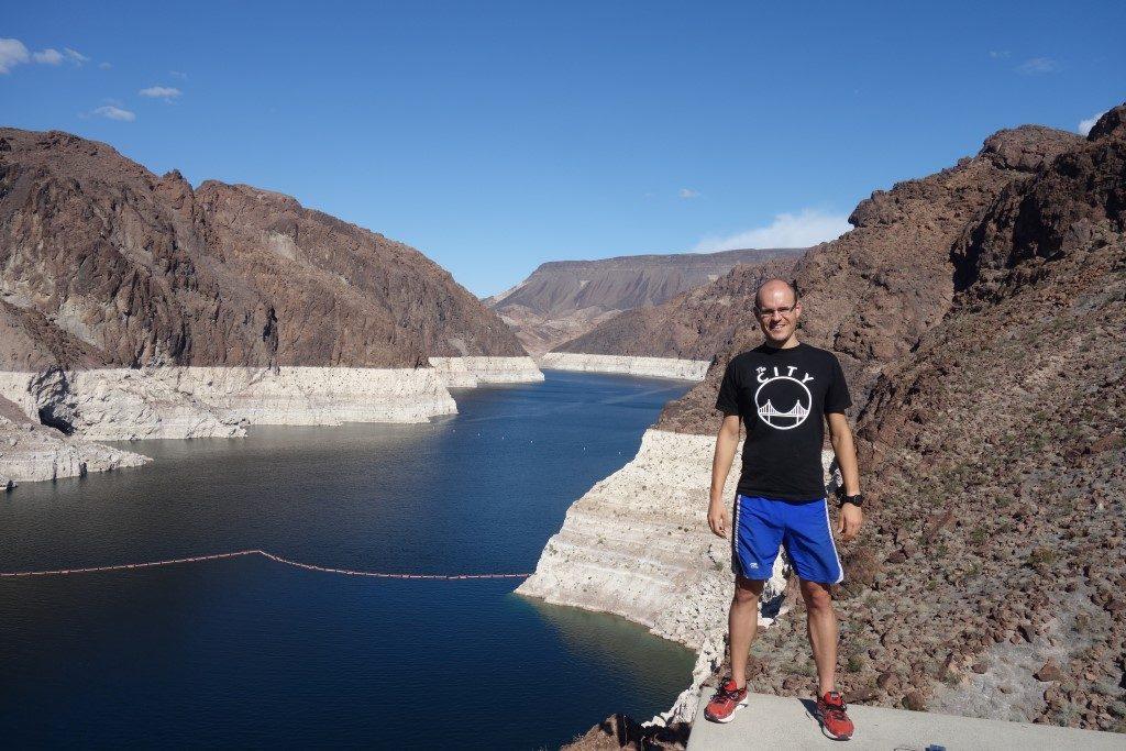 Hoover Damm Lake Mead Ebbe Niedrigwasser Dürre