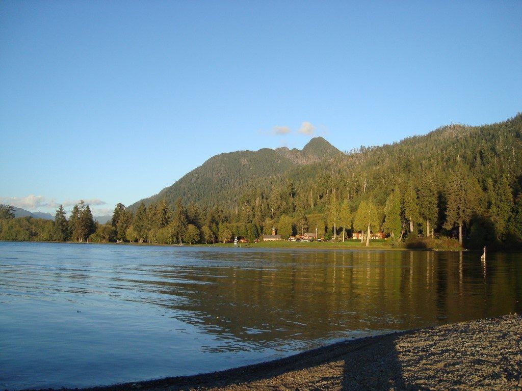 Lake Quinault Olympic National Park Washington