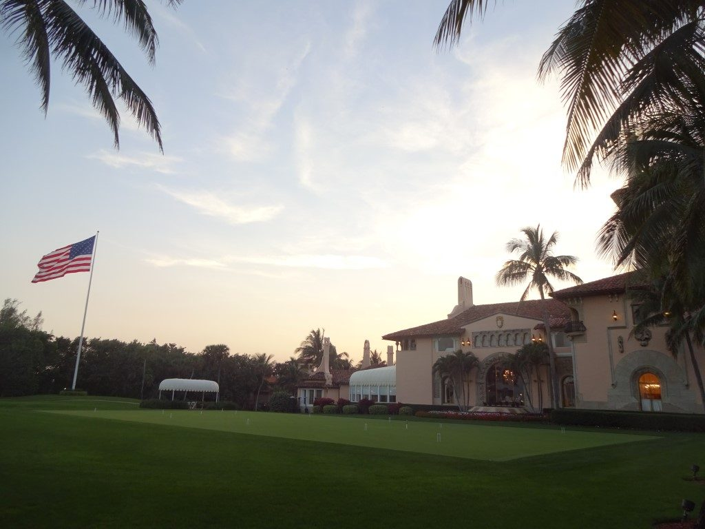 Mar A Lago Donald Trump West Palm Beach Florida Residenz