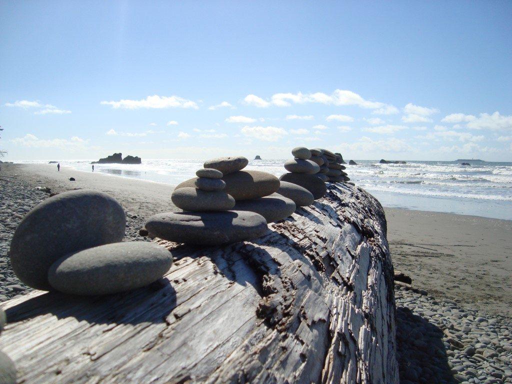 Ruby Beach Küste Westküste Pazifik Washington