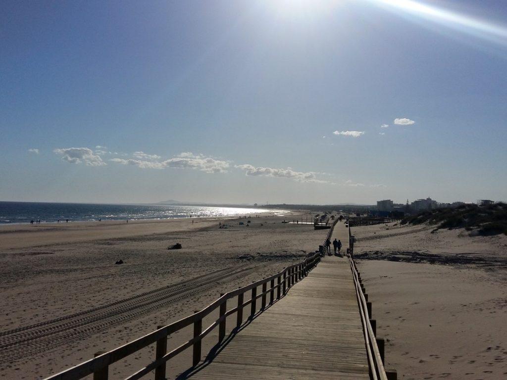 Strand Monte Gordo Algarve Portugal