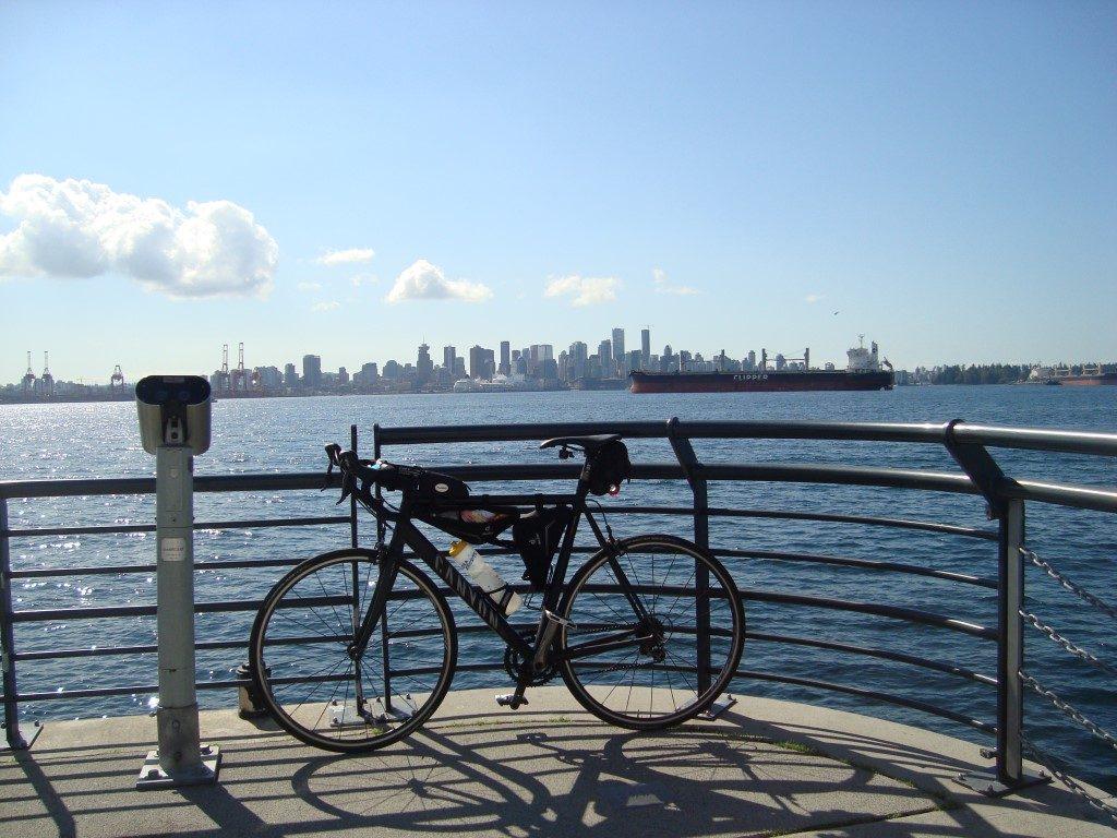 Skyline North Vancouver Harbour Kanada