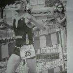 Triathlon Hofheim Mitteldistanz 2014 Sieger Zieleinlauf Marko Gränitz Sieg unmöglich Moment